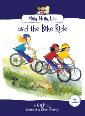 Milly, Molly, Lily and the Bike Ride book cover