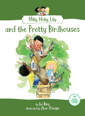 Milly, Molly, Lily and the Pretty Birdhouses book cover