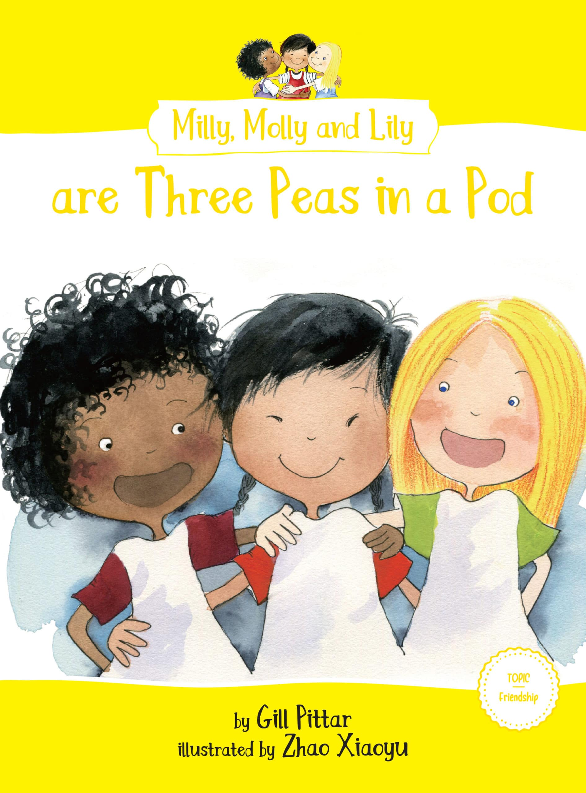 Milly, Molly and Lily are Three Peas in a Pod book cover