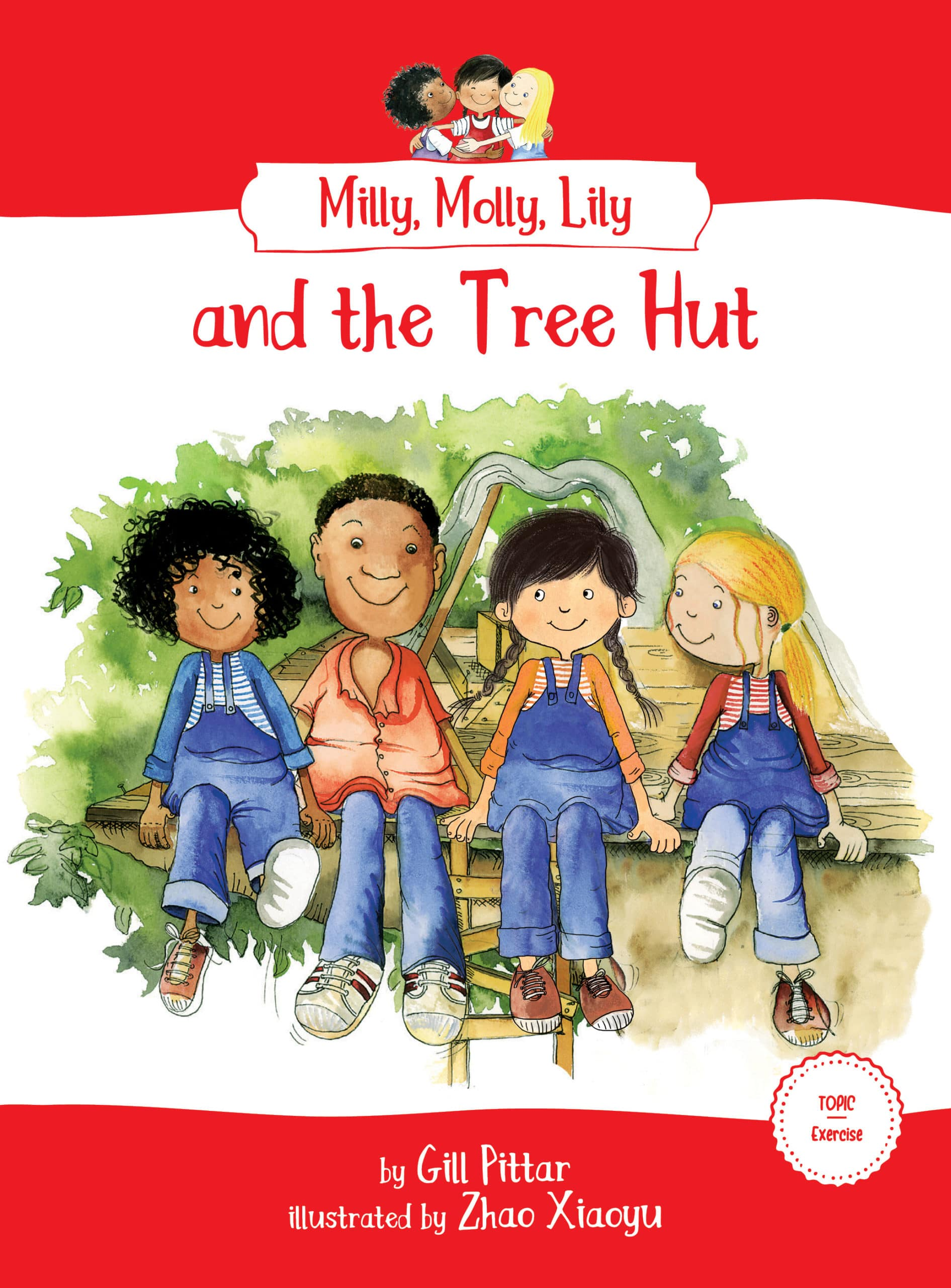 Milly, Molly, Lily and the Tree Hut book cover
